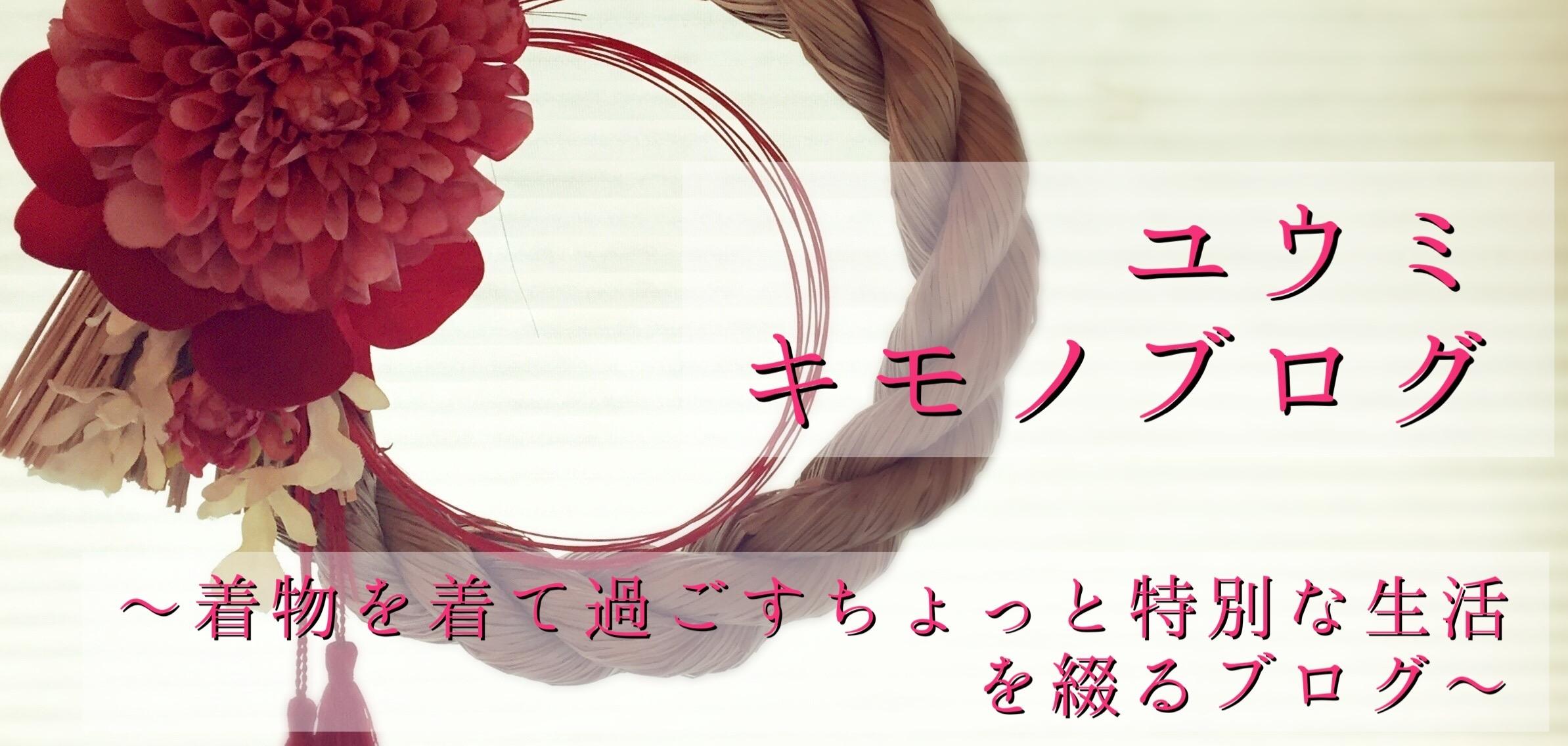 ユウミ キモノブログ